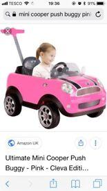 Ultimate Mini Cooper push along buggy
