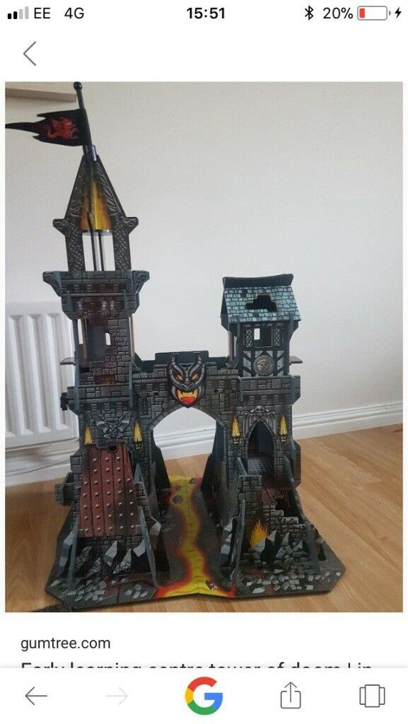Early learning tower of darkness