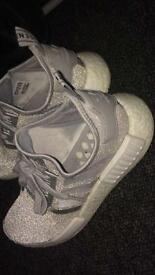 Adidas NMD grey trainers for sale