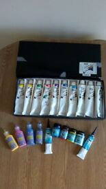 Craft and Acrylic paints