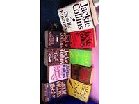 Nine Jackie Collins Books
