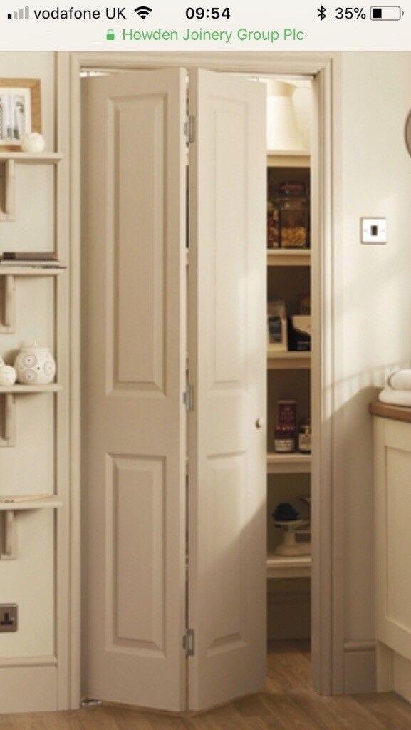 Howdens Bifold Internal Wooden Door In Cookham