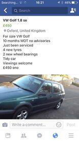 VW Golf se