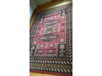 Rectangular patterned rug
