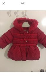 Baby Girls next Coat 3-6 months