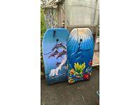 2x Surfing Body Boards - 29inch - Childrens