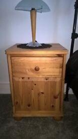 Pine bedside cabinets - Ikea