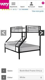 Bunk beds double at the bottom