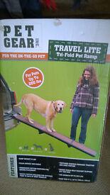 Pet Gear travel lite ramp for large dog