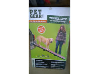Pet Gear travel lite ramp for large dog