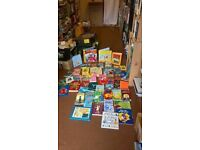 LARGE BUNDLE OF MIXED CHILDRENS BOOKS 50 IN TOTAL GREAT BARGAIN
