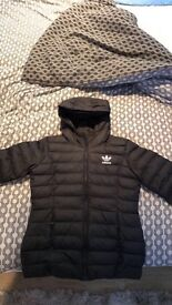 brand new without tags, size 8 adidas coat