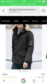 Men's next parka! New! Large!