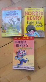 3 Horrid Henry's Books