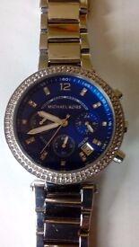 Michael Kors MK6117 Silver Steel Bracelet Womens