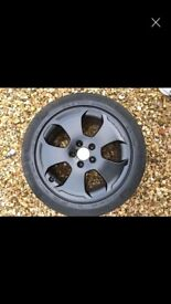 5x112 Genuine Audi Alloys with good tyre's