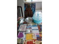 JOB LOT baking and cake decorating items