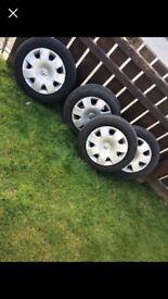 "Volkswagen wheels 14"" (Polo,Ibiza,fabia)"