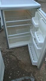 Small white fridge...under counter Mint..free delivery