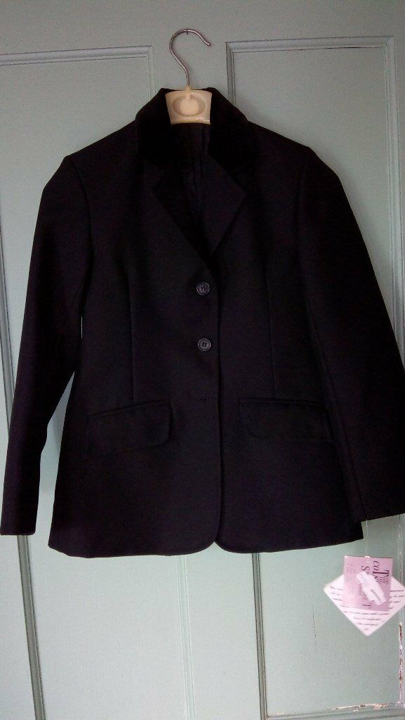 Childs Black Riding Jacket