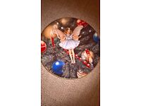 The Christmas Tree Fairy Plate