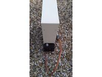 Greenhouse / polytunnel gas heater