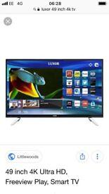 49 inch smart 4K tv