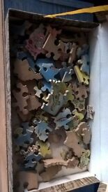 Comical Wooden Puzzle of UK