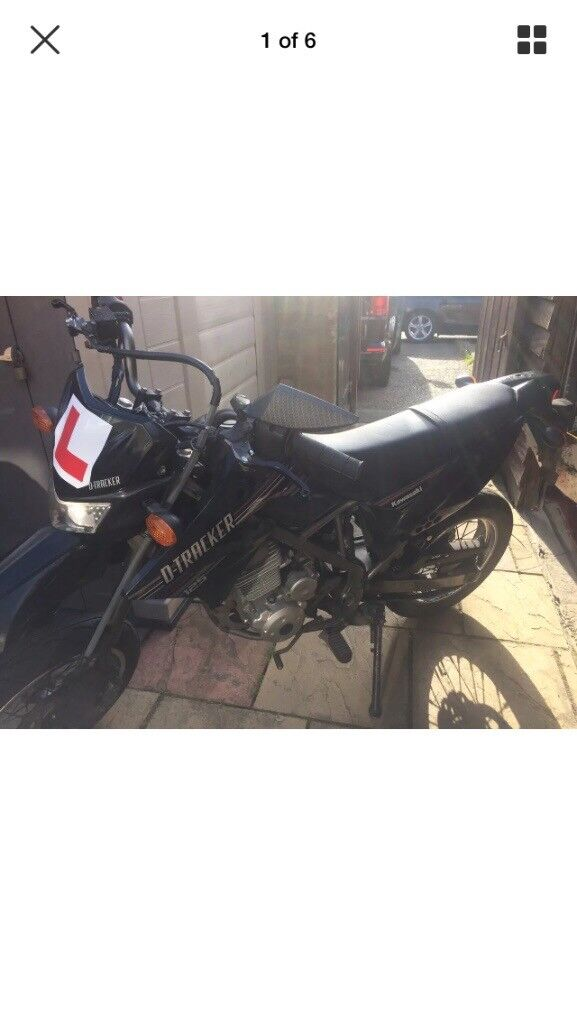 Kawasaki D-tracker 125cc motorbike