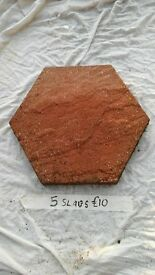paving slabs x 5 hexagonal shape