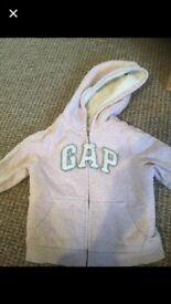 Girls gap hoody aged 3-4
