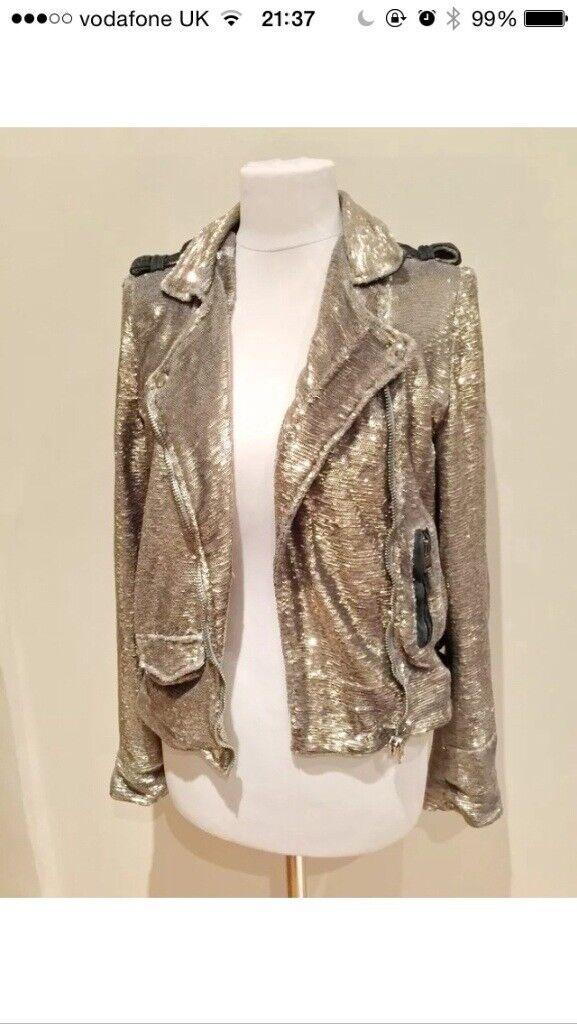 IRO designer biker jacket