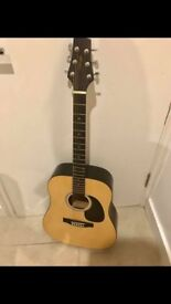 Used Stagg acoustic guitar