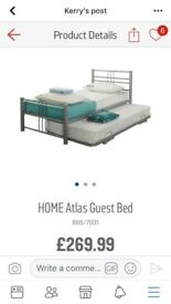 Bed with pull out guest bed. The same as in picture