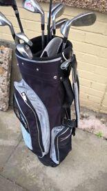 slazenger firesteel golf clubs