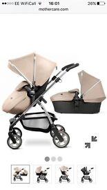 SilverCross Wayfarer Pushchair,Car seat,Carrycot & Adapters