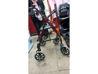 Mobility walker. Red £15