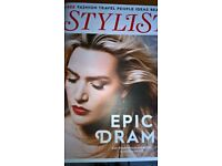 Kate Winslet Cover Stylist Magazine With 4 Page Interview Excellent Condition