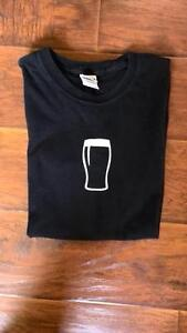 GUINESS Pint black t-shirt tshirt