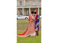 Stunning Pakistani bridal dress