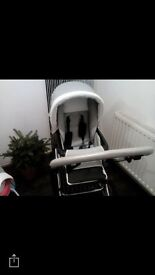 Grey prestige pram and buggy too.Bought £750 in great condition looking for £150 or nearest offer