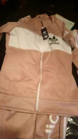 Brand new adidas tracksuit size Large but small fitting