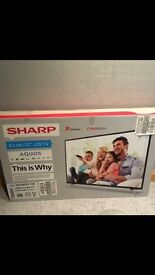 Sharp, freeview 32inch tv