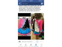 Irish dancing dress