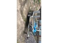 ifor williams 2700kg twins axle heavy duty plant trailer