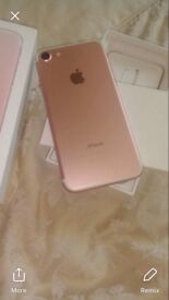 Rose gold iPhone 7 32g