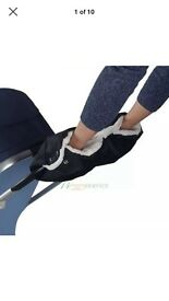 Hand warmer for pushchair