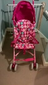 Girls Mothercare Stroller