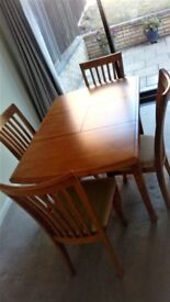 Dinning Table and chairs.