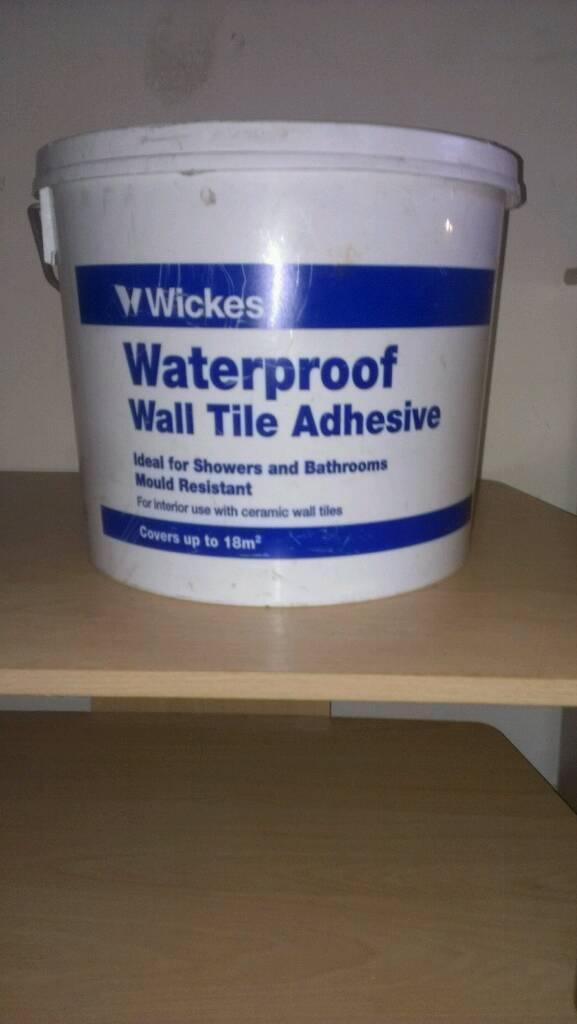 Wickes waterproof wall tile adhesive